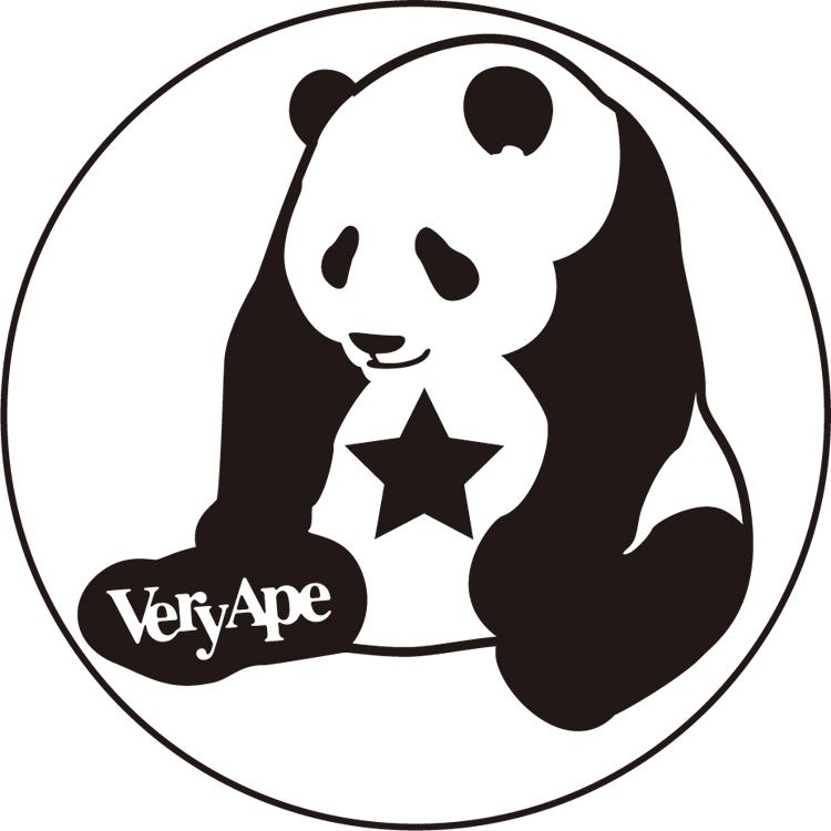 「パンダ」バッジ 44mm