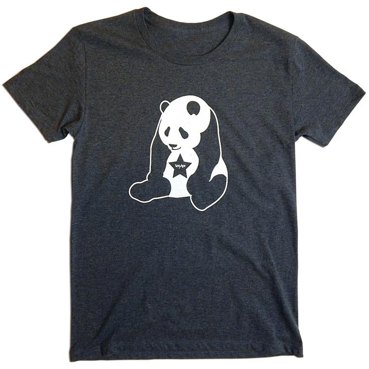 「パンダ」Tシャツ詳細画像