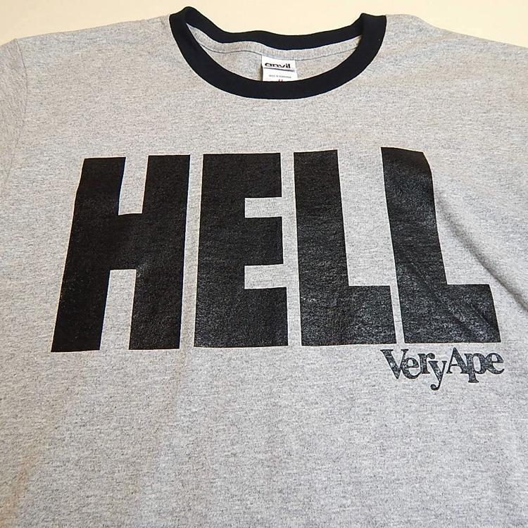 「HELL」リンガーTシャツ詳細画像